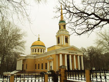 Dnepropetrovsk. Church of the Transfiguration of Christ in Dnepropetrovsk Royalty Free Stock Photography
