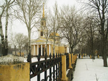 Dnepropetrovsk. Church of the Transfiguration of Christ in Dnepropetrovsk Royalty Free Stock Photo