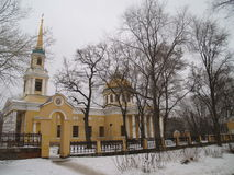 Dnepropetrovsk. Church of the Transfiguration of Christ in Dnepropetrovsk Royalty Free Stock Images