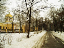 Dnepropetrovsk. Church of the Transfiguration of Christ in Dnepropetrovsk Stock Image
