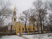 Dnepropetrovsk. Church of the Transfiguration of Christ in Dnepropetrovsk Stock Photography