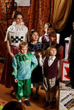 De muziek van kinderen scotish toont Royalty-vrije Stock Afbeelding