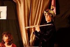 De speler van de fluit Royalty-vrije Stock Foto