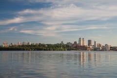 Dnepropetrovsk Dnepr, Dnipro fotografía de archivo libre de regalías