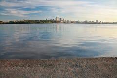 Dnepropetrovsk Dnepr, Dnipro. Dnepropetrovsk, beautiful city landscape, Dnepr River Stock Photos