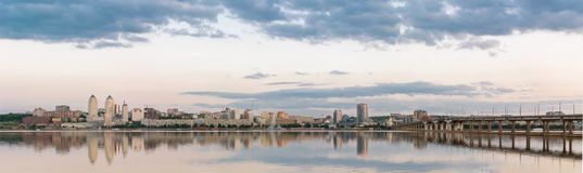 Dnepropetrovsk Dnipropetrovsk, Dnepr, Dnipro view of the city Royalty Free Stock Photos