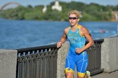 Dnepropetrovsk ETU Sprint Triathlon European Cup Stock Image
