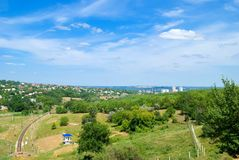 Dnepropetrovsk and its suburbs Stock Photography