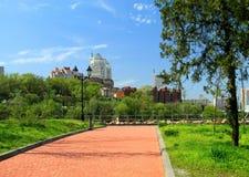 Dnepropetrovsk, Ucrânia, vista da cidade Fotos de Stock