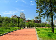 Dnepropetrovsk, Ucrania, vista de la ciudad Fotos de archivo