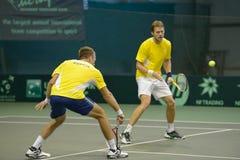 Training in tennis Stock Photos