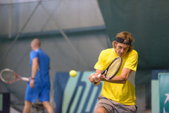Training in tennis Stock Photography