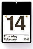 dni 2008 s walentynki Zdjęcia Royalty Free