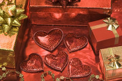 dni karty świątecznie walentynki Zdjęcie Stock