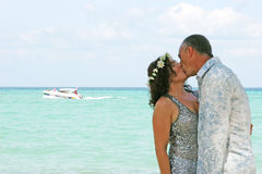 dni plaży ślub Zdjęcia Stock