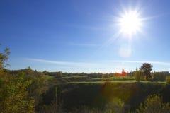 dni słonecznej park Obraz Royalty Free