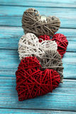 dni serc miłość jest walentynka ilustracyjny Zdjęcia Stock