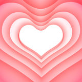 dni serc valentines tło Obraz Royalty Free