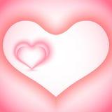 dni serc valentines tło Zdjęcie Royalty Free