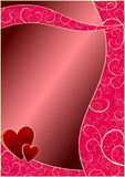 dni valentines tło Obraz Royalty Free