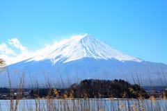 Dnia światło z Fujiyama Zdjęcia Royalty Free