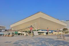 dnia czas Hong Kong kolosseum przy Wieszam Hom fotografia stock