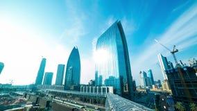 Dnia Dubai centrum handlowego terenu 4k czasu lekki upływ zbiory