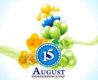 Dnia Niepodległości 15 august tło Obraz Royalty Free