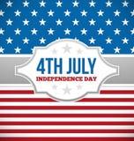 Dnia Niepodległości projekt Zdjęcie Stock