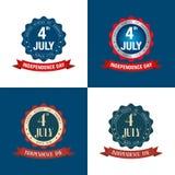 Dnia Niepodległości 4 th Lipiec szczęśliwa dzień niezależność Zdjęcie Royalty Free