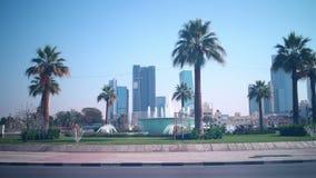 Dnia ruchu drogowego rozdroża czasu upływ od Dubai zbiory wideo