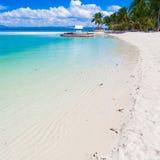 Dnia tropikalny morze Zdjęcie Stock