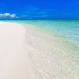 Dnia tropikalny morze Obraz Stock