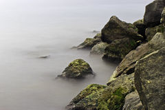Mglisty Toronto nabrzeże Fotografia Stock