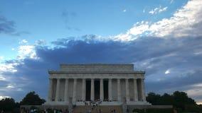 Dnia widok Lincoln pomnik zdjęcie wideo