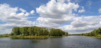 Dnieper flod Royaltyfri Bild
