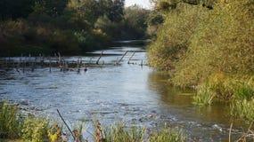 Dnieper-Fluss, das Heimatland Ukraine Stadt Dnipro Lizenzfreies Stockfoto