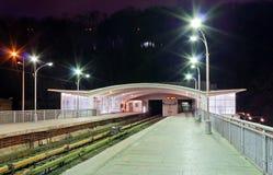 Dnieper metrostation Royaltyfri Foto