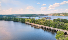 Dnieper river Stock Photo