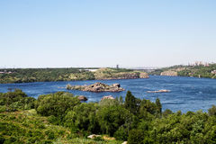 Dnieper River Royalty Free Stock Images