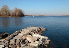 Dnieper river, Kiev Stock Photography