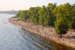 Dnieper River, Kiev Ukraine Royalty Free Stock Photo
