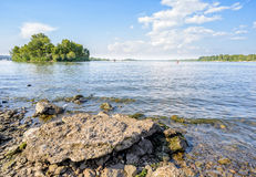 The Dnieper River in Kiev Royalty Free Stock Images
