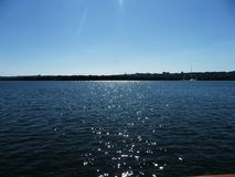 Dnieper River royalty free stock image