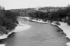The Dnieper river Stock Photo
