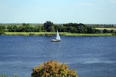 The Dnieper River Stock Images