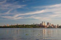 Dniepropetovsk Dnepr, Dnipro immagini stock