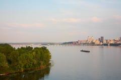 Dniepropetovsk Dnepr, Dnipro fotografie stock