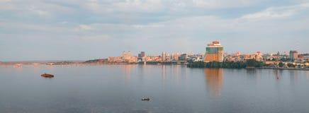 Dniepropetovsk Dnepr, Dnipro fotografie stock libere da diritti