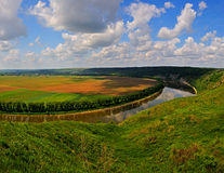 Dniester Canyon Stock Photo